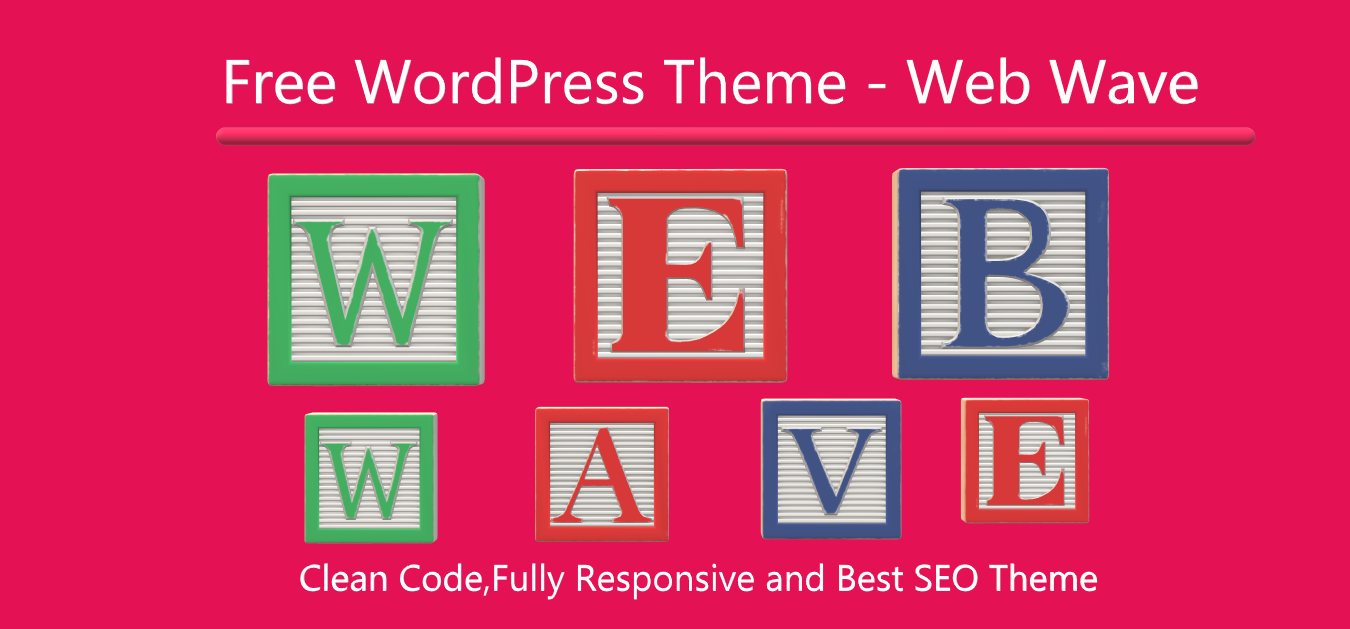 Web Wave – Clean and Responsive Free WordPress Theme for 2021